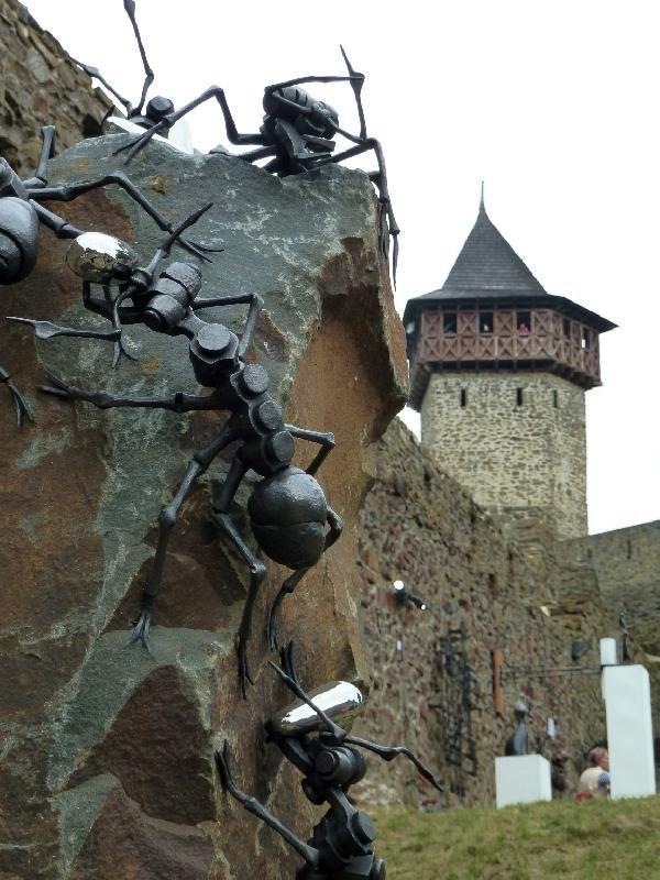 festival Hefaiston - Ironwork at Helfštýn castle, Czechia