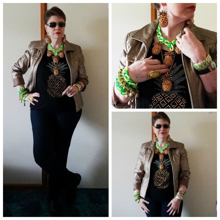 JDS - MY STYLE - op shop jacket and Crossroads top - more details on the blog - http://jeweldivasstyle.com/my-style-september-style/