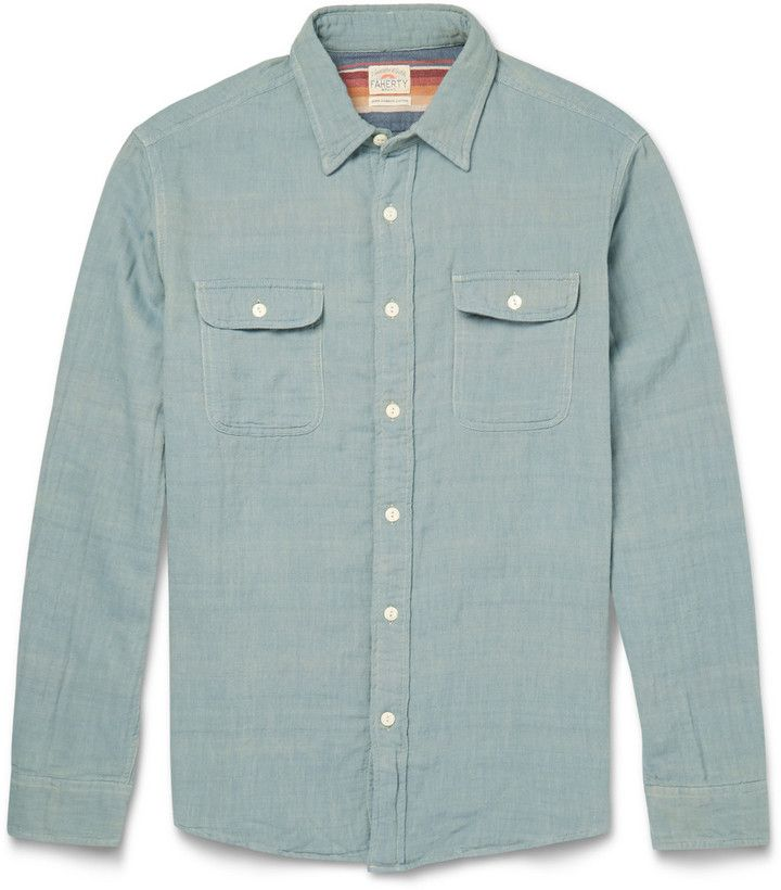 Washed Denim and Chambray Shirts