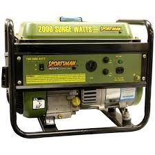 Enter to win a Sportsman 2000 Watt Generator. Total Prize Value: $349