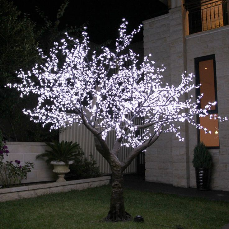 350cm White LED Cherry Blossom Tree in Home & Garden, Parties, Occasions, Lighting | eBay