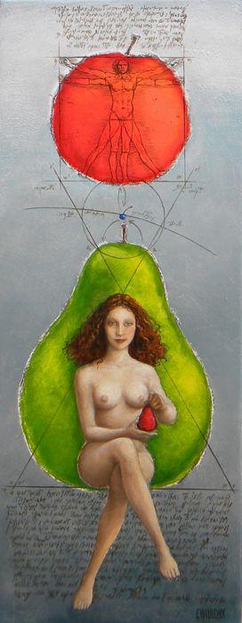 Catherine Chauloux  -  L'atome de Léonard
