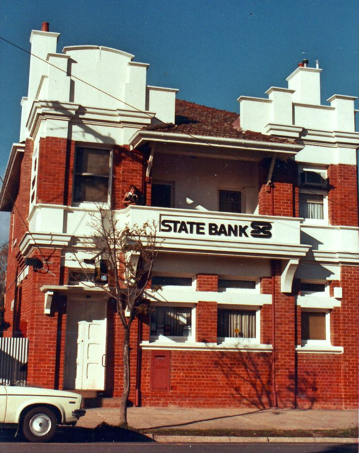 Great Western Vic: State Bank building (1986)