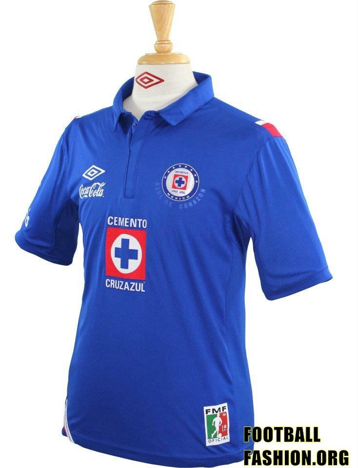 Cruz Azul Umbro 2012/13 Home and Away Jerseys