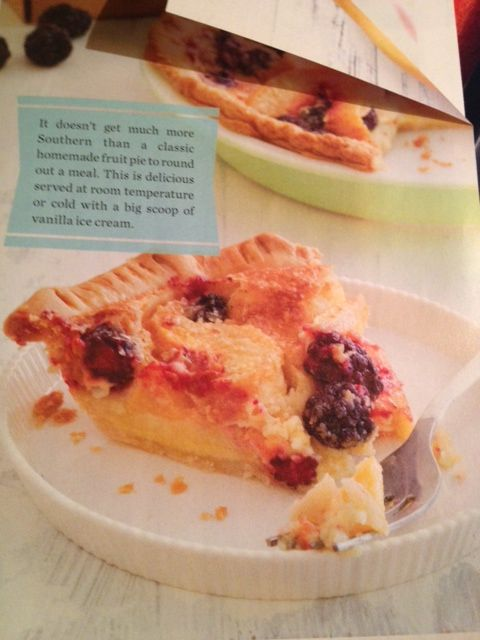 BLACKBERRY BUTTERMILK PIE: 1 pie crust sheet, 1 cup fresh blackberries ...