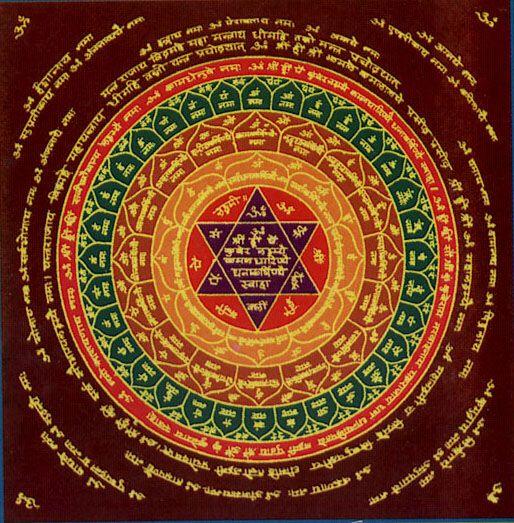 Lakshmi Kubera Mantra | The Online Panchangam - Yantra