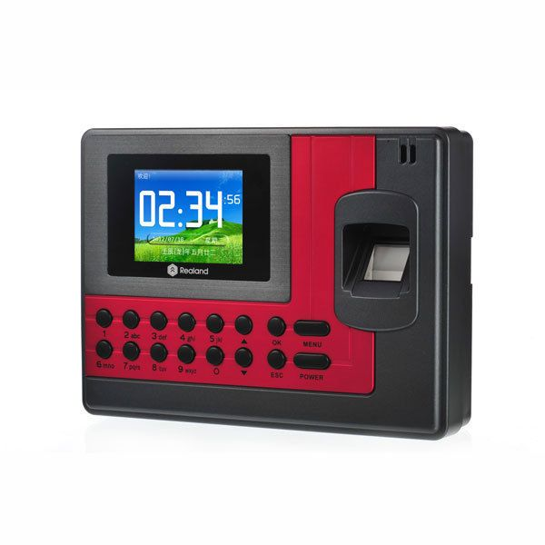A-C110T Realand Impronte Digitali Presenza di Tempo Dell'orologio ID Card + TCP/IP + USB 200 MHz CPU
