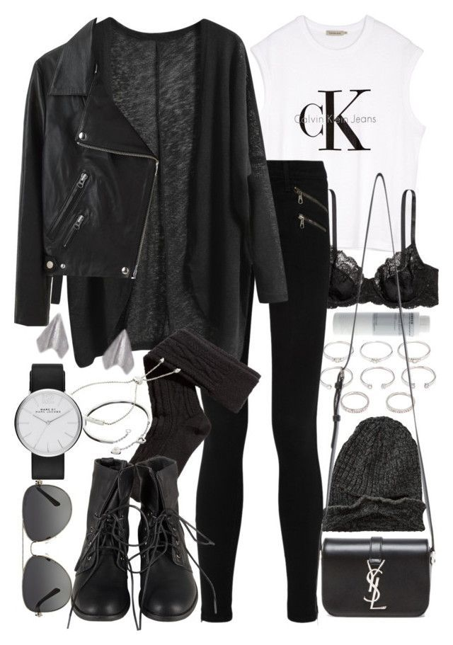 """Untitled #7205"" by nikka-phillips ❤ liked on Polyvore featuring moda, Forever 21, Korres, Element, Calvin Klein, H&M, Yves Saint Laurent, rag & bone/JEAN, Acne Studios ve Cartier"