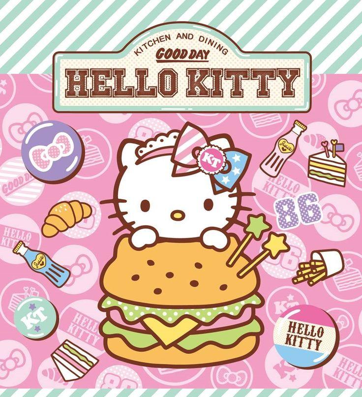 Hello Kitty burger  Hello kitty  Pinterest  Hello kitty, Kitty and Sanrio