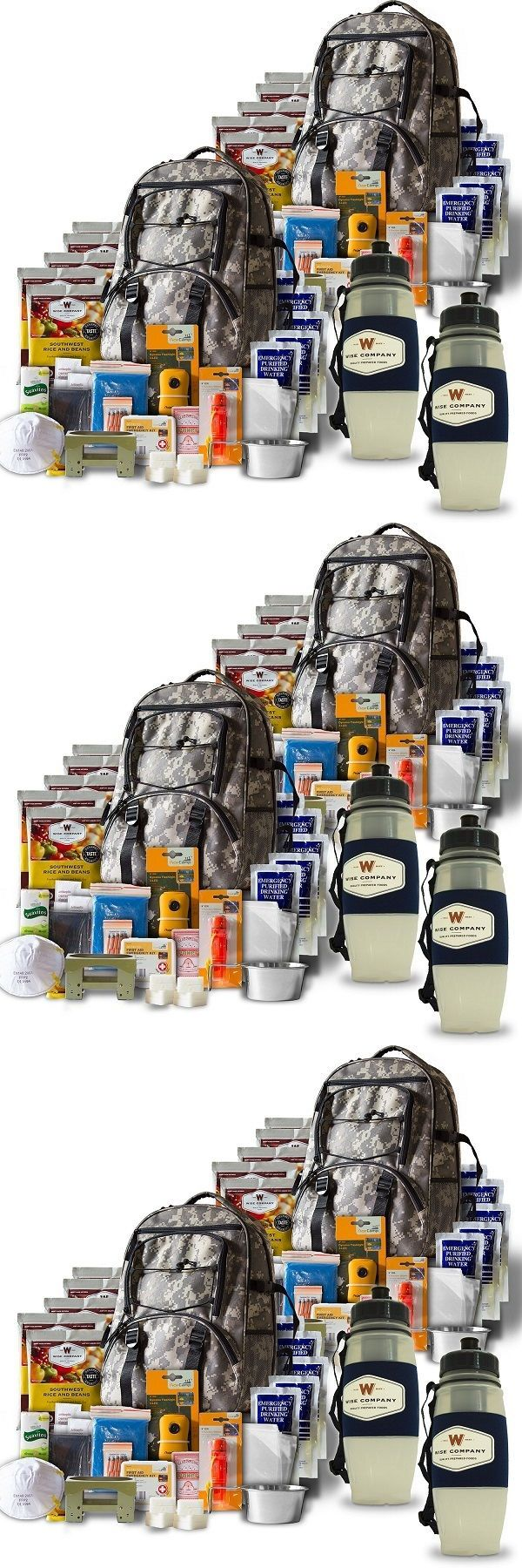 Other Emergency Gear 181415: Emergency Preparedness Backpack Essentials Kit Survival Bugout Bag 2 Person New -> BUY IT NOW ONLY: $197.99 on eBay!