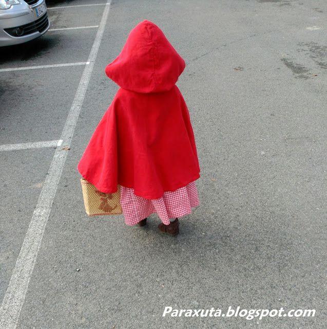 Paraxuta: Coser: Disfraz de Caperucita Roja / Txanogorritxo