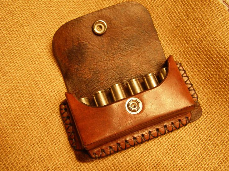Leather bullet case leatherbykd etsy for Leather sheets for crafting