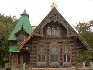 Деревянные бревенчатые дома в русском стиле | Эко-Тех