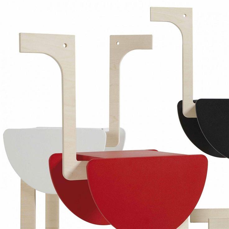 Tavolino in legno due ripiani DODO 62x29xh83 cm in MDF laccato a polveri Nero | Emporium | Stilcasa.Net: tavoli giardino