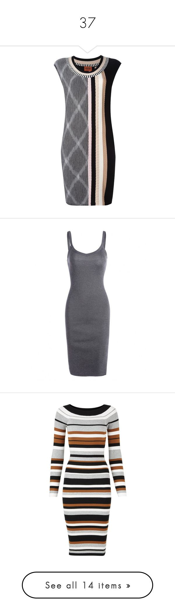 """""""37"""" by sunshane ❤ liked on Polyvore featuring dresses, multicolored dress, no sleeve dress, sleeveless dress, missoni dress, multi-color dresses, gray dress, grey dresses, grey cami and gray sheath dress"""