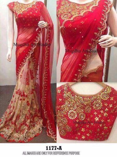 cdc373e2a5 Indian pakistani bollywood new Designer Saree Wedding Party wear Lehenga  Sari