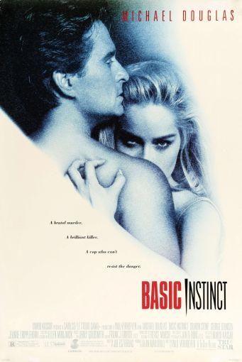 Basic Instinct Movie poster Metal Sign Wall Art 8inx12in