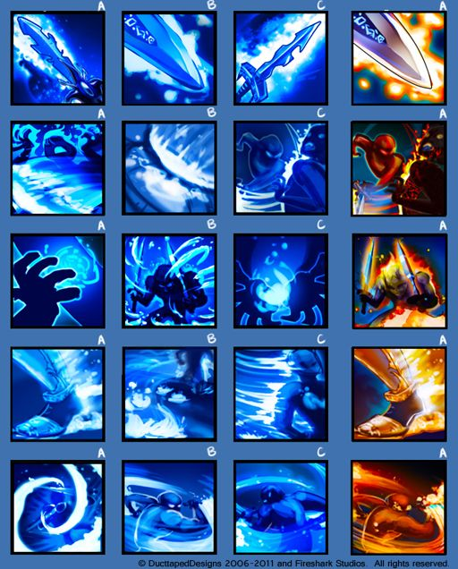 Game icons set 3 by ~dasawah on deviantART