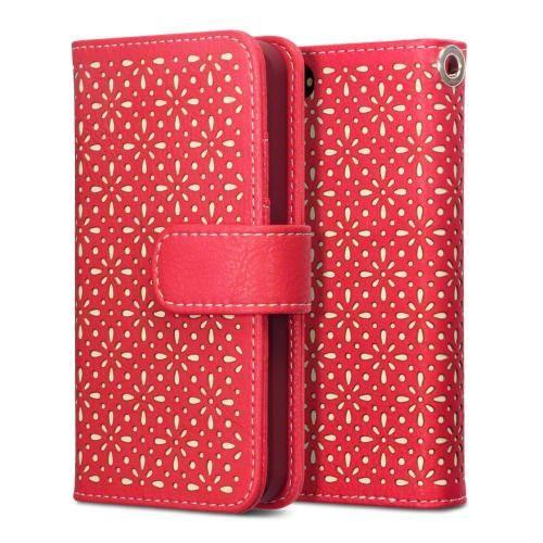 Köp Terrapin Textured Floral Fodral Apple iPhone 5/5S/SE röd online: http://www.phonelife.se/terrapin-textured-floral-fodral-apple-iphone-5-5s-se-rod