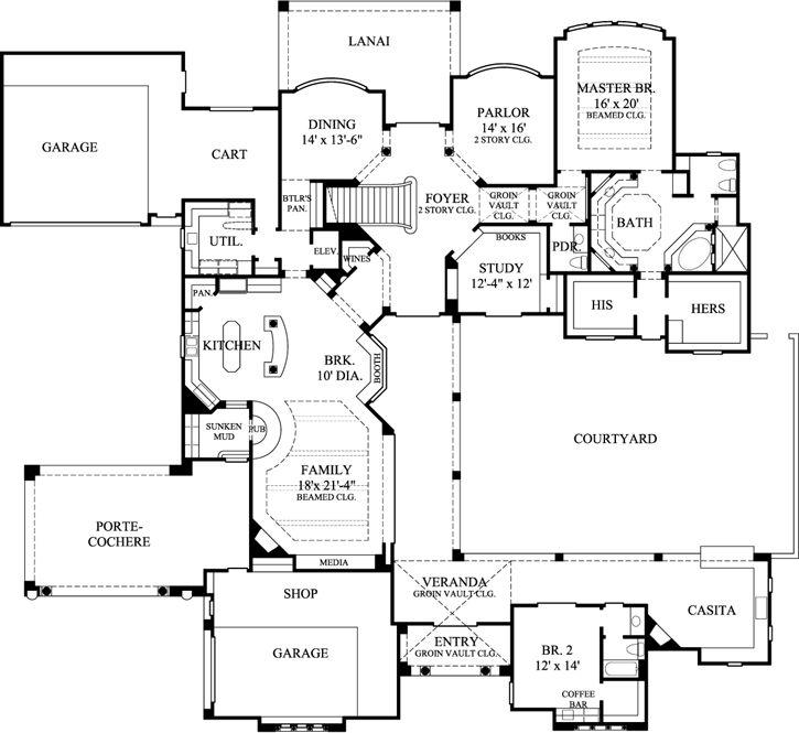 44 best floor plans images on pinterest | small house plans, cottage