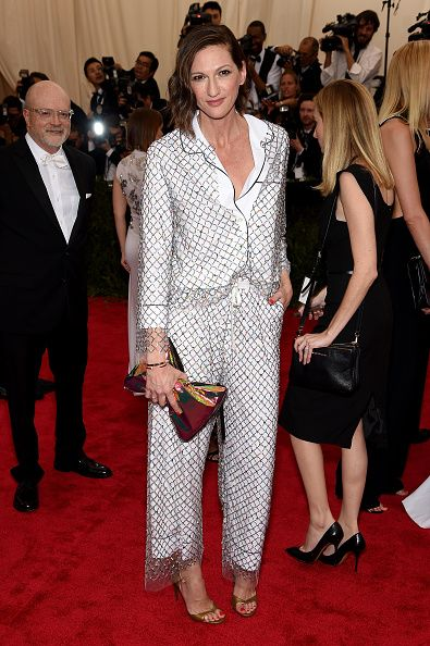 Jenna Lyons attends the 'China Through The Looking Glass' Costume Institute Benefit Gala at the Metropolitan Museum of Art on May 4 2015 in New York...