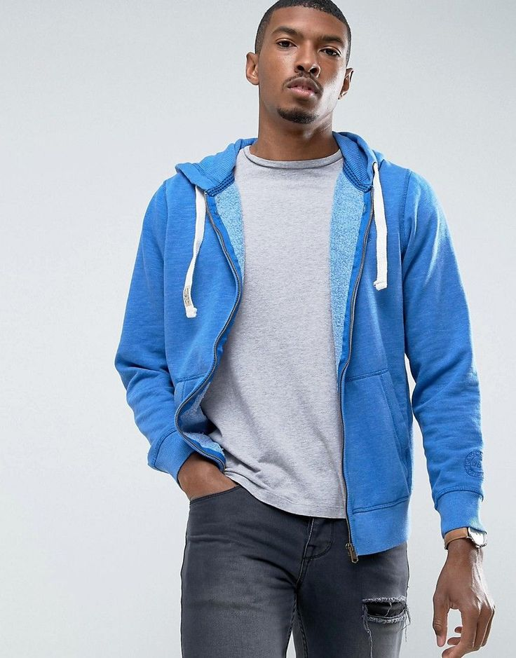 Get this Tokyo Laundry's hooded sweatshirt now! Click for more details. Worldwide shipping. Tokyo Laundry Zip Through Hoodie - Blue: Hoodie by Tokyo Laundry, Soft-touch sweat fabric, Drawstring hood, Zip fastening, Pouch pocket, Fitted trims, Regular fit - true to size, Machine wash, 51% Cotton, 49% Polyester, Our model wears a size Medium and is 188cm/6'2 tall. (sudadera con capucha, hood, hoody, hooded, capuchas, sudadera con capucha, sudaderas con capucha, sudaderas con capuchas, hoodie…