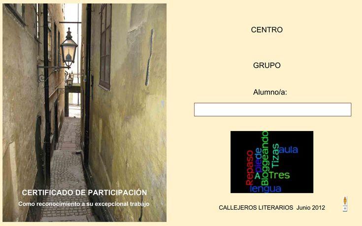 CALLEJEROS LITERARIOS é un proxecto interdisciplinar, no que se traballa a literatura, si; os xéneros literarios, pero tamén as vilas e cidades, liñas do tempo, localización xeográfica. E tamén un proxecto globalizado, colaborativo e integrador.