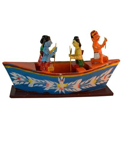 Kondapalli Toys are made from Special Light Softwood & Are Painted with Natural Vegetable Dyes & Enamel Colors