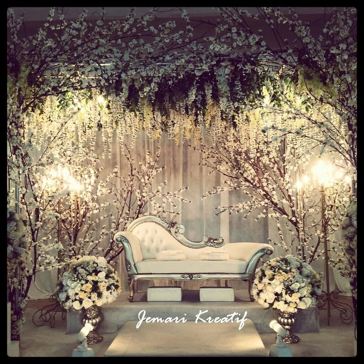 Stunning Wedding Reception Stage