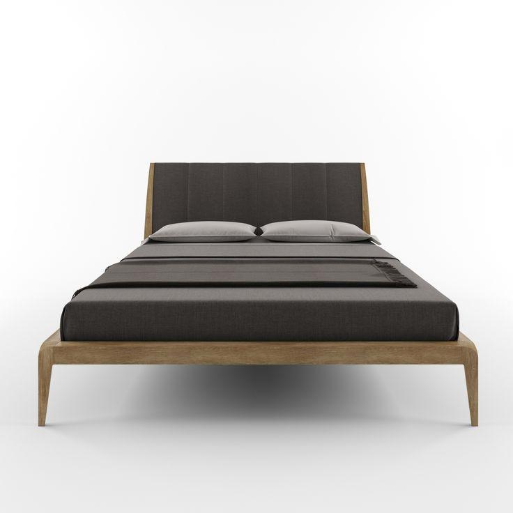 Кровать OAS DREAM от HBMart - массив дуба с покрытием из льняного масла и пчелиного воска