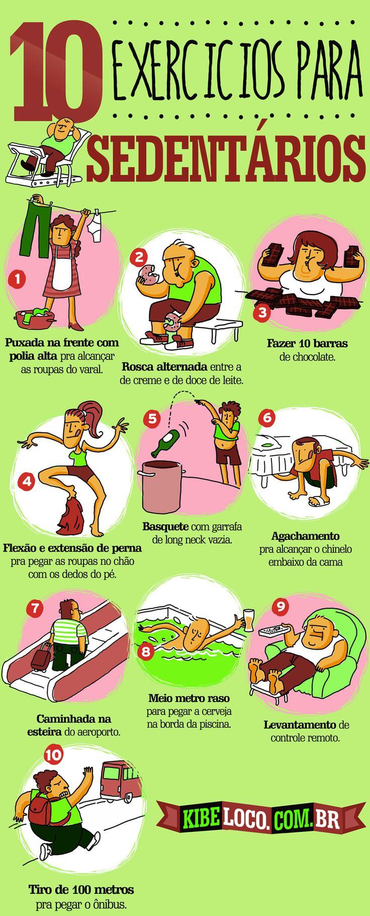TOP EXERCÍCIO PARA OS SEDENTÁRIOS...