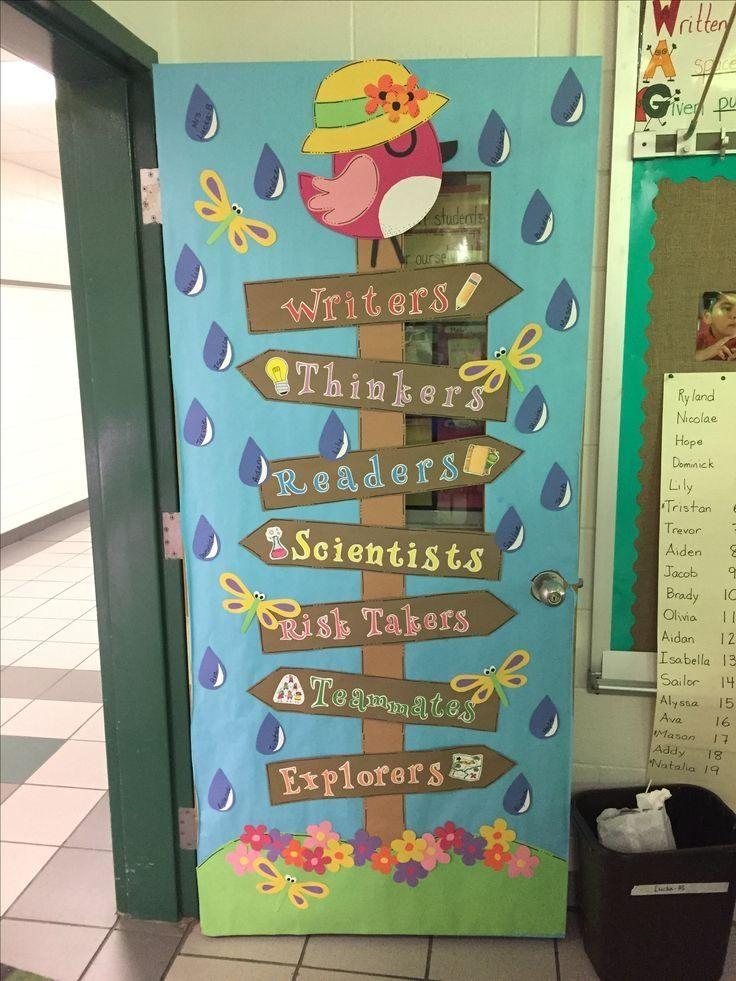 Image Result For Classroom Door Decoration Ideas Beginning School Door Decorations Classroom School Door Decorations School Doors
