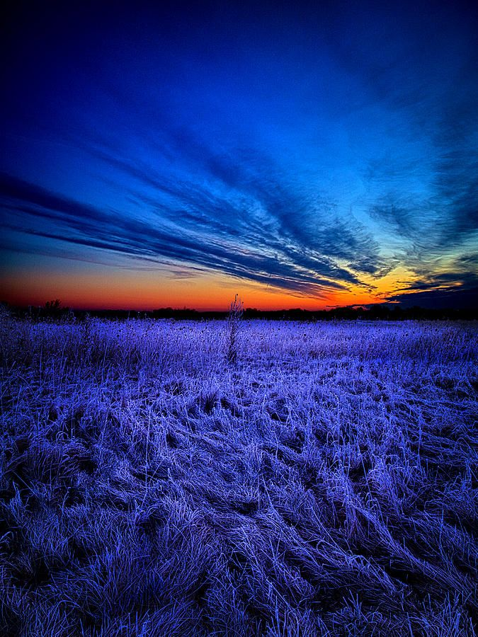 The Hue of Blue