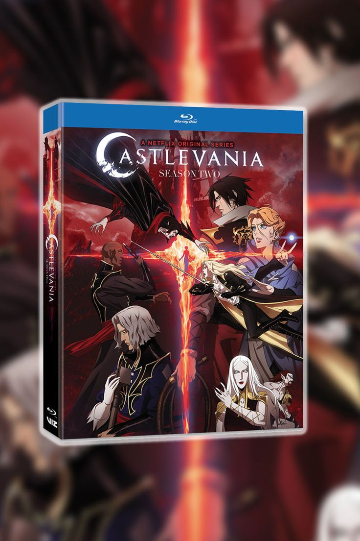 Castlevania season 2 bluray season 2 reign season anime