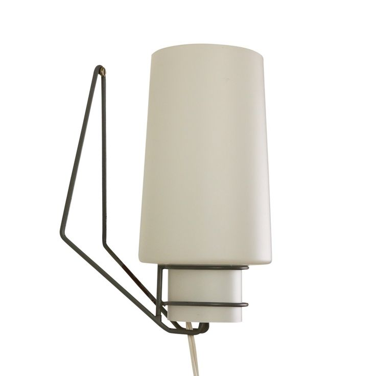 Minimalistic fifties wall light by Philips Holland