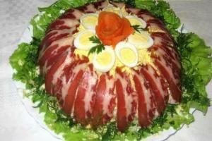 Топ-5 вкусных салатов для новогоднего стола!