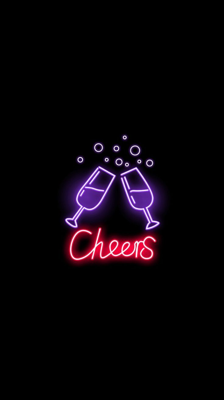 cheers  neon  neonlights  tumblr  aesthetic  wallpaper