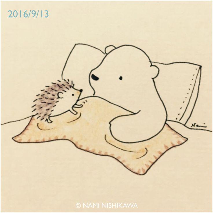 картинка медвежонок обнимает ежика снимать обычном
