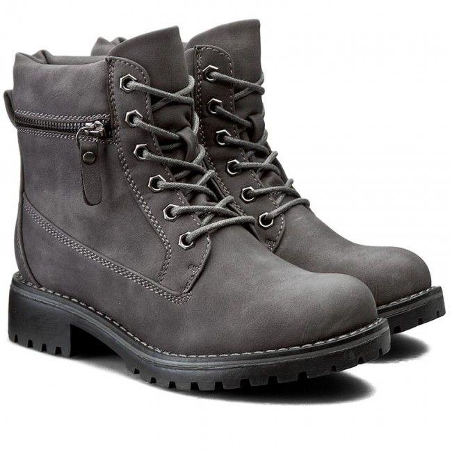 Turistická obuv CLARA BARSON - WS722-5 Šedá