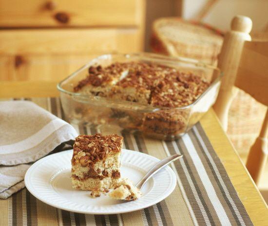 Crumb Coffee Cake (Gluten Free, Sugar Free, Vegan, Anti-Candida) for Our Panera's Gluten Free Dream Day