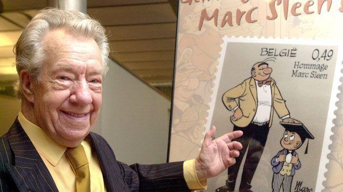 De Belgische stripauteur Marc Sleen is overleden, hij was 93 jaar. Hij overleed thuis in Hoeilaart. Marc Sleen was vooral bekend door de succesvolle reeks Nero.  Ik heb dit gekozen omdat hij een heel bijzondere man was. Hij heeft  45 jaar lang aan de reeks Nero gewerkt en het is echt triest dat hij stierf.