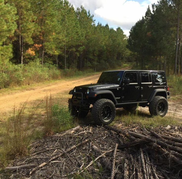 lifted black jeep wrangler unlimited #JEEP…