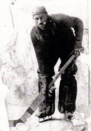 Truro Victoria's Goaltender, Coloured Hockey League 1926