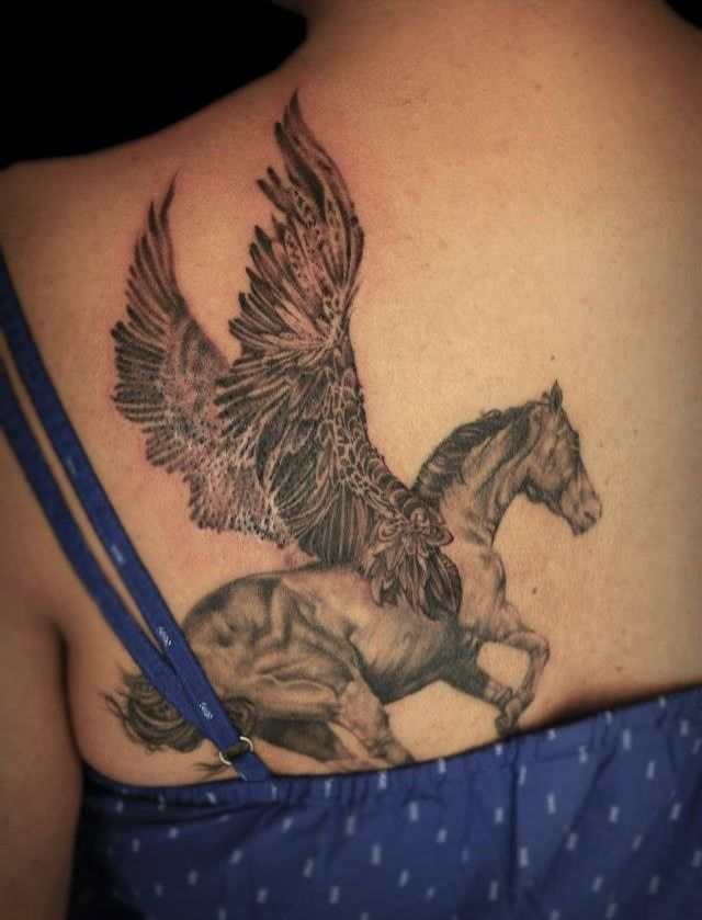 77 best images about horse tattoos on pinterest lion for Horse jumping tattoos