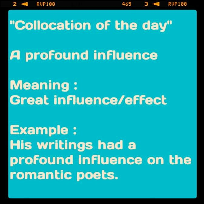 One a' those formal collocations.