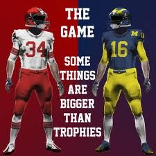 Buckeyes vs. Wolverines the oldest rivalry in the country.