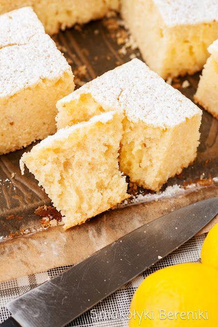 Ciasto cytrynowe na kefirze