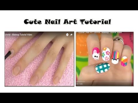 Cute Nail Art Tutorial | Makeup Tutorial Channel... See More Here : http://goo.gl/jDA1dc  Hope Your Enjoy! ..... Like, Share, Comment & Subscribe Us!  Cheers to astounding nail designs! | See more about Manicures, Nail Art and Nail Art Tutorials: https://www.youtube.com/channel/UC3SbRN6zFEgCdnKHZj28B4w   #nailart #nailarttutorial #nailarttutorialvideo
