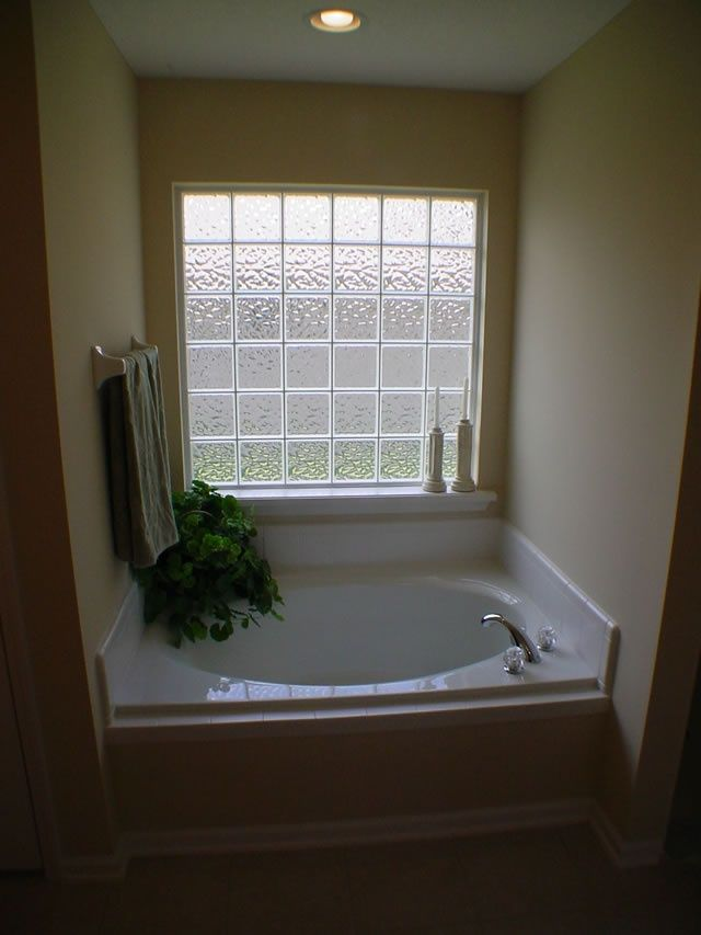 25 best beach bathroom images on pinterest bathrooms for Glass block window design ideas