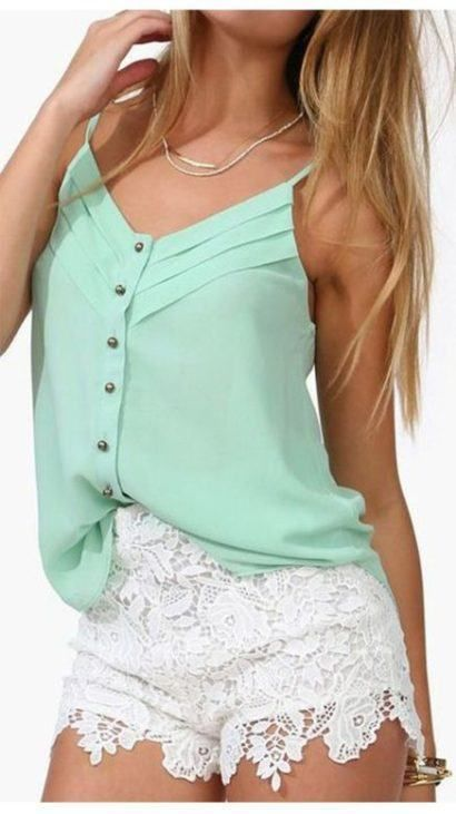 blusas femininas sem manga com botões